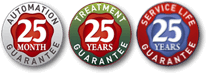 INDUSTRY LEADING 25 YEAR GUARANTEE
