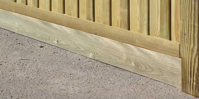 fencing gravelboard