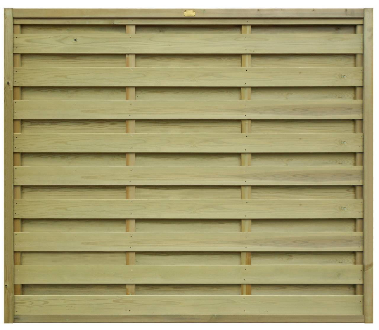 Hit and Miss Fence Panel 1520mm 631700 x 2