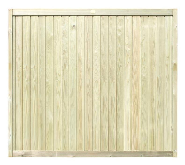 1650m Tongue and Groove Fence Panel