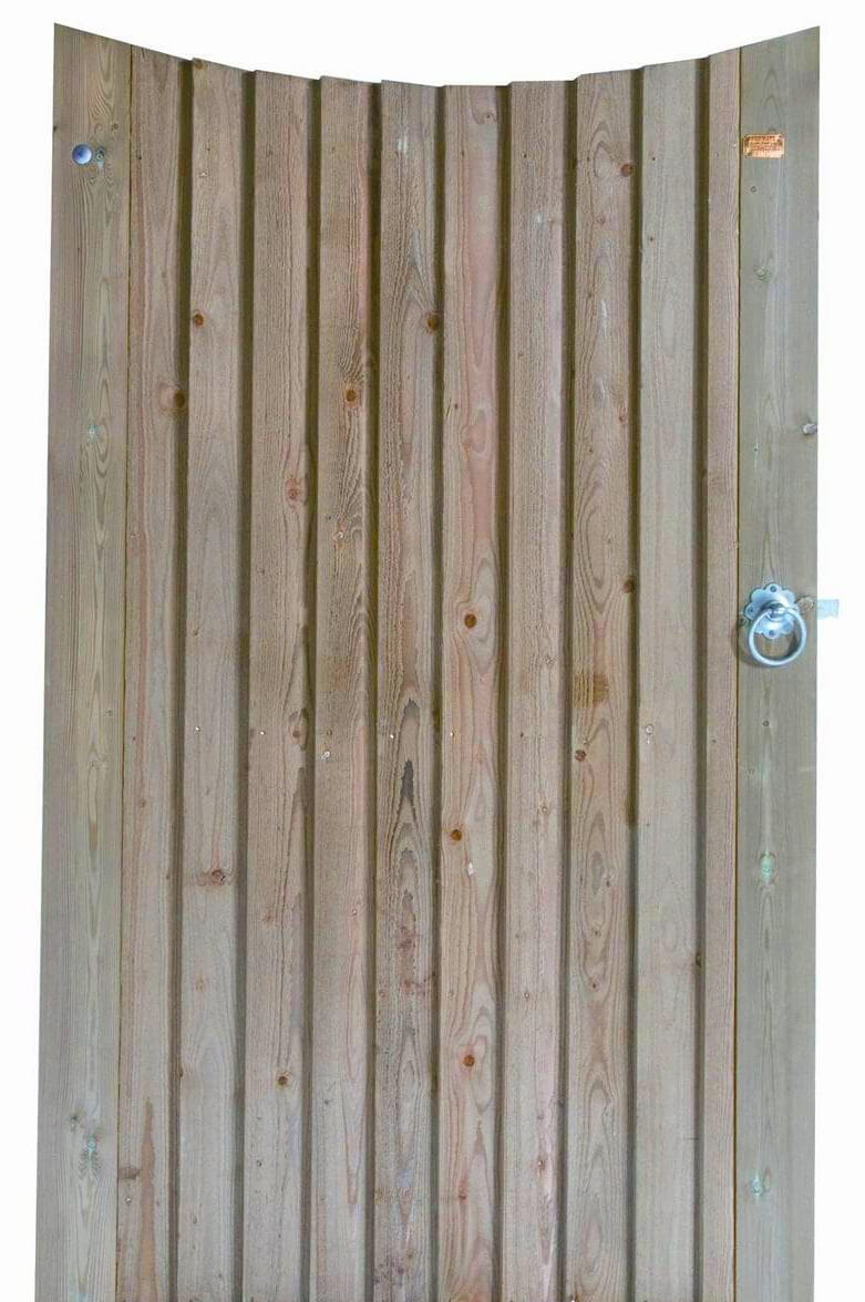 231331 - Featherboard concave garden gate