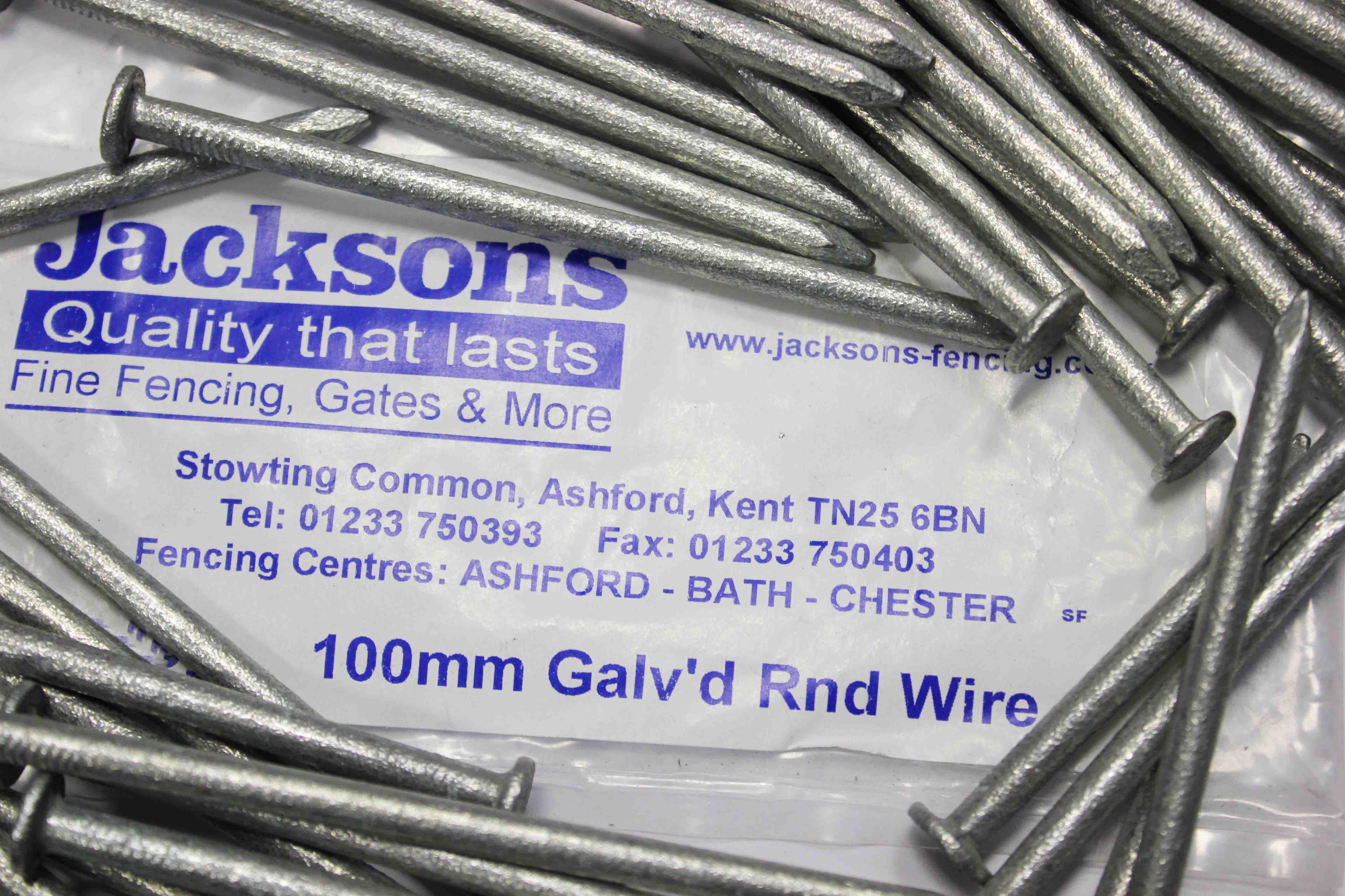 Galvanised 100mm 4 inch nails