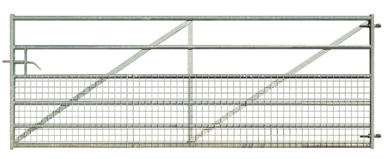 Welded Mesh Clad Metal Field Gate